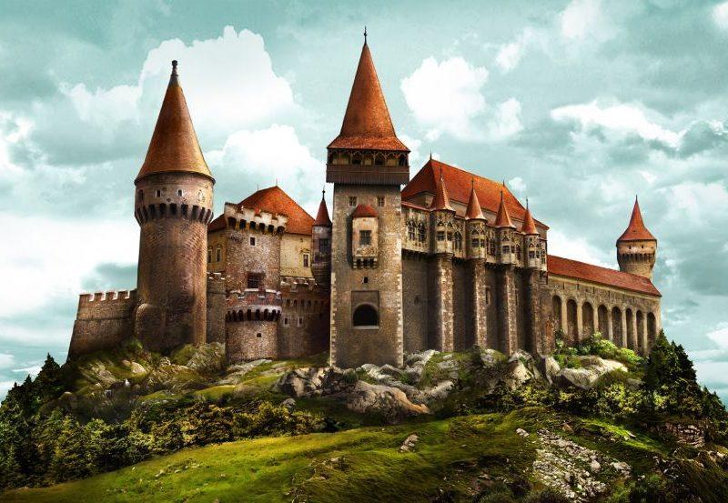 Necropola de langa castelul Corvinilor