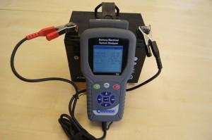 Testarea unei baterii auto in conditii ideale