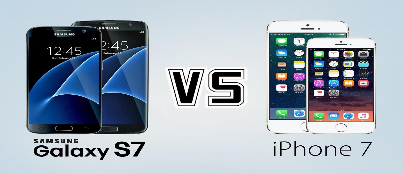 iPhone 7 vs. Samsung Galaxy S7 – display